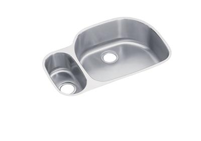 "Image for Elkay Lustertone Classic Stainless Steel 31-1/2"" x 21-1/8"" x 10"", 30/70 Offset Double Bowl Undermount Sink from ELKAY"