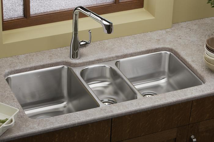 Triple Bowl Sink