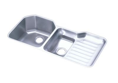 "Image for Elkay Lustertone Stainless Steel 41-1/2"" x 20-1/2"" x 9-1/2"", 40/60 Double Bowl Undermount Sink from ELKAY"