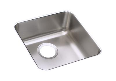 "Image for Elkay Lustertone Stainless Steel 16-1/2"" x 16-1/2"" x 4-3/8"", Single Bowl Undermount Sink from ELKAY"