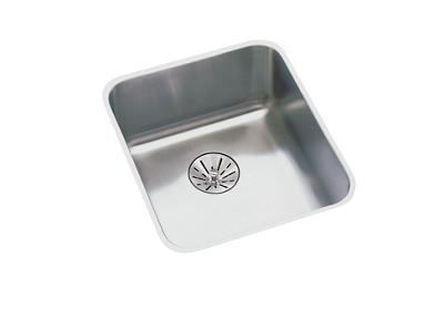 "Image for Elkay Lustertone Stainless Steel 16-1/2"" x 16-1/2"" x 5-3/8"", Single Bowl Undermount ADA Sink with Perfect Drain from ELKAY"