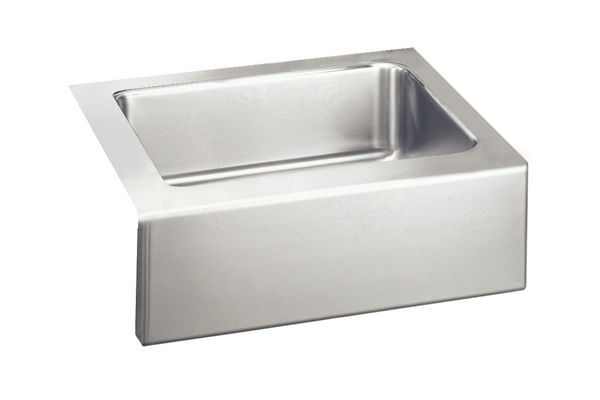 "Elkay Lustertone Stainless Steel 25"" x 20-1/2"" x 7-7/8"", Single Bowl Apron Front Sink"