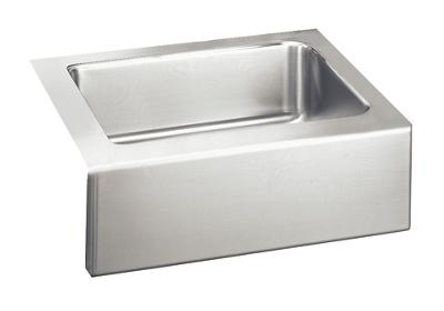 "Image for Elkay Lustertone Stainless Steel 25"" x 20-1/2"" x 7-7/8"", Single Bowl Apron Front Sink Kit from ELKAY"