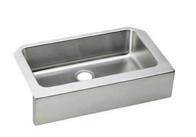 "Image for Elkay Lustertone Stainless Steel 33"" x 20-1/2"" x 8"", Single Bowl Apron Front Sink from ELKAY"