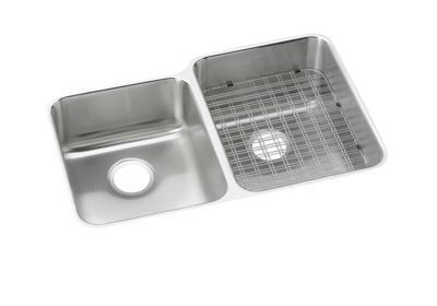 Image for Gourmet (Lustertone®) Stainless Steel Double Bowl Undermount Sink from ELKAY