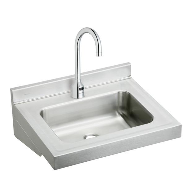 ELKAY | Wall Sink, Handwash, Scrub, Stainless Steel Commercial Sinks