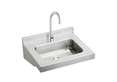 "Image for Elkay Stainless Steel 22"" x 19"" x 5-1/2"", Wall Hung Lavatory Sink Kit from ELKAY"