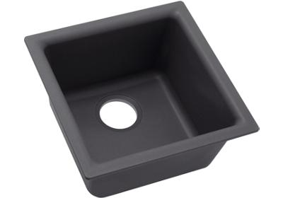 "Image for Elkay Quartz Luxe 15-3/4"" x 15-3/4"" x 7-11/16"", Single Bowl Dual Mount Bar Sink from ELKAY"