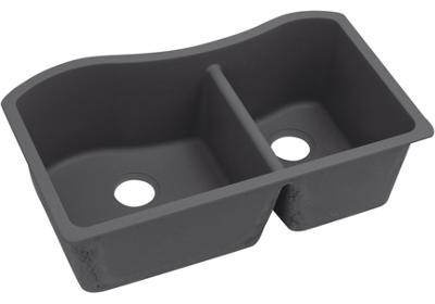 "Image for Elkay Quartz Luxe 32-1/2"" x 20"" x 10"", 60/40 Double Bowl Undermount Sink from ELKAY"