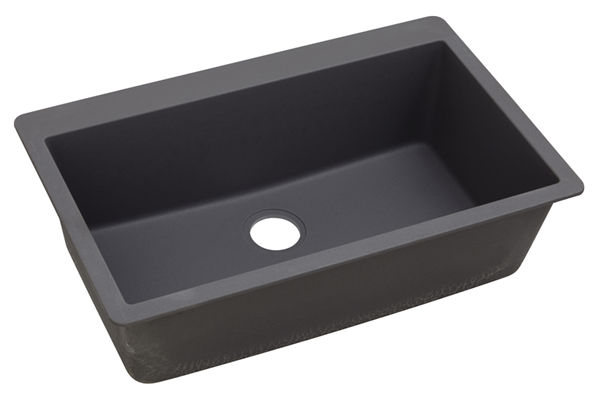 "Elkay Quartz Luxe 33"" x 20-7/8"" x 9-7/16"", Single Bowl Top Mount Sink"