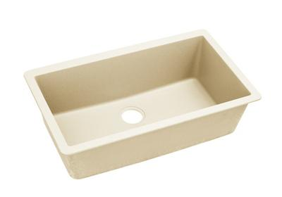 "Image for Elkay Quartz Luxe 33"" x 18-7/16"" x 9-7/16"", Single Bowl Undermount Sink, Parchment from ELKAY"