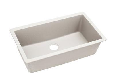 "Image for Elkay Quartz Luxe 33"" x 18-7/16"" x 9-7/16"", Single Bowl Undermount Sink, Ricotta from ELKAY"