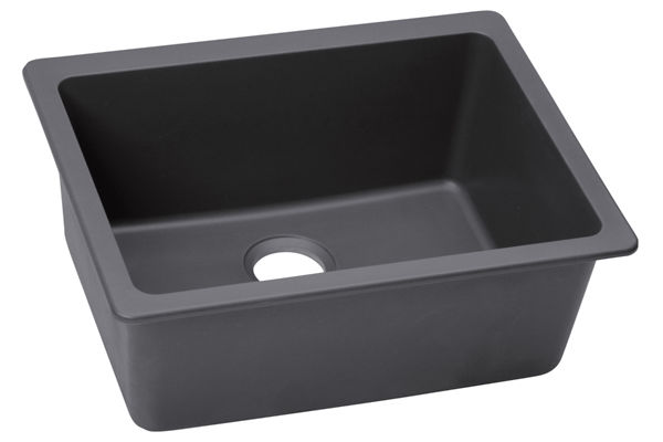 "Elkay Quartz Luxe 25"" x 18-1/2"" x 9-1/2"", Single Bowl Undermount Sink"