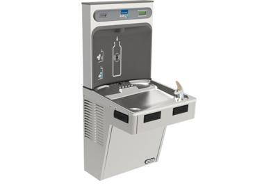 Image for Elkay EZH2O Bottle Filling Station with Single ADA Cooler, Non-Filtered Non-Refrigerated Stainless from ELKAY
