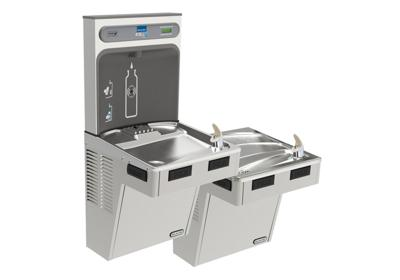 Image for Elkay EZH2O Bottle Filling Station with Bi-Level ADA Cooler, Non-Filtered Non-Refrigerated Stainless from ELKAY