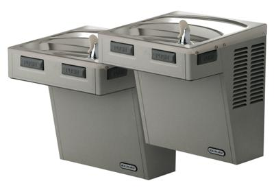 Image for Elkay Cooler, Wall Mount, Bi-Level Reverse, ADA, Non-Filtered, Non-Refrigerated, Light Gray Granite from ELKAY