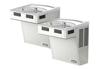 Image for Elkay Wall Mount Bi-Level ADA Cooler, Non-Filtered 8 GPH Stainless from ELKAY