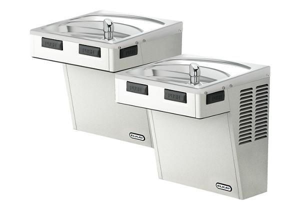 Image for Elkay Wall Mount Bi-Level ADA Cooler, Non-Filtered, Non-Refrigerated Stainless from Elkay Latin America
