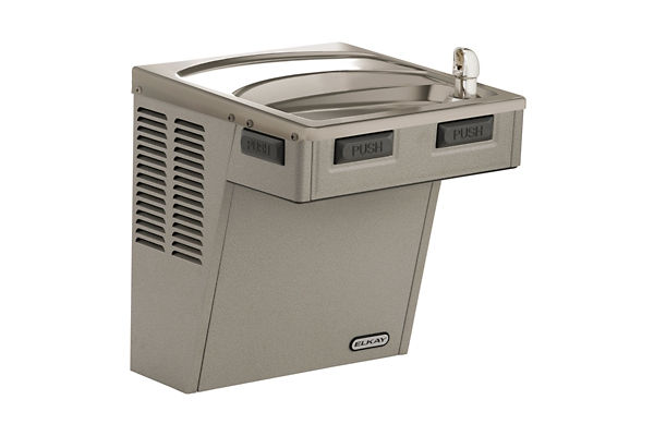 Elkay Wall Mount ADA Cooler, Non-Filtered 8 GPH Light Gray Granite