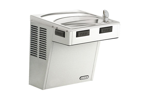 Elkay Wall Mount ADA Cooler, Non-Filtered Non-Refrigerated Stainless