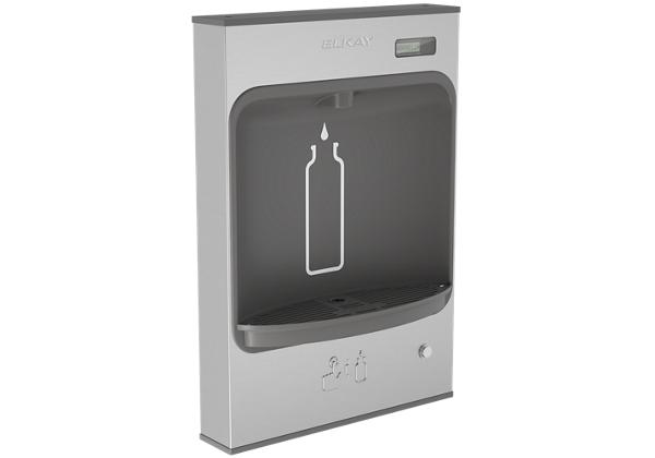 Image for Elkay EZH2O Mechanical Bottle Filling Station Surface Mount, Battery Powered Non-Filtered Non-Refrigerated Stainless from Elkay Middle East