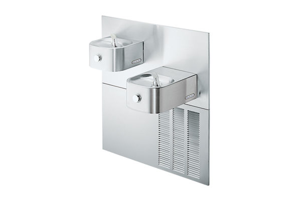 Elkay Soft Sides Fountain Bi-Level ADA Non-Filtered 8 GPH, Stainless 220V