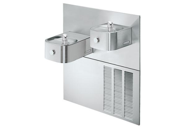 Image for Elkay Soft Sides Fountain Bi-Level Reverse ADA Non-Filtered, 8 GPH Stainless from Elkay Latin America
