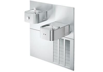 Image for Elkay Soft Sides Fountain Bi-Level ADA Hands-Free Non-Filtered, 8 GPH Stainless 220V from ELKAY