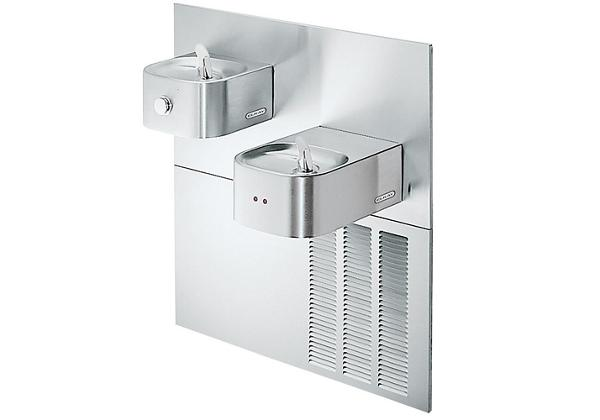 Image for Elkay Soft Sides Fountain Bi-Level ADA Hands-Free Non-Filtered, 8 GPH Stainless from Elkay Latin America