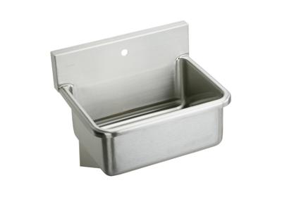 "Image for Elkay Stainless Steel 31"" x 19.5"" x 10-1/2"", Wall Hung Single Bowl Hand Wash Sink from ELKAY"