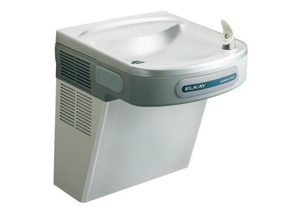 Image for Elkay Cooler Wall Mount ADA Hands-Free Non-Filtered 8 GPH, Stainless 220V from Elkay Latin America