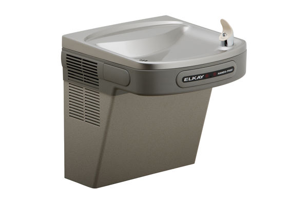 Elkay Cooler Wall Mount ADA Hands-Free Non-Filtered 8 GPH, Light Gray Granite 220V