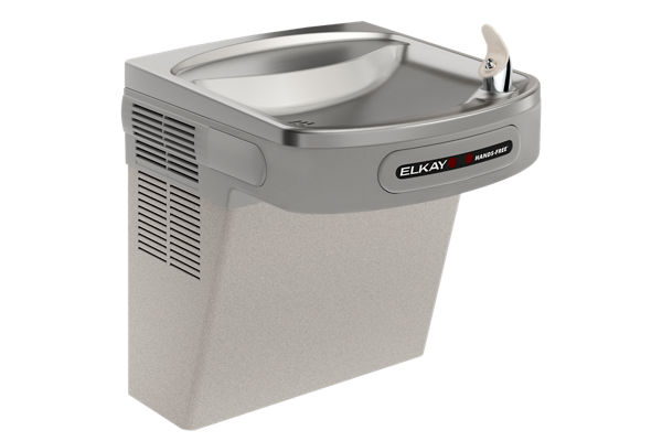 Elkay Cooler Wall Mount ADA Hands-Free Non-Filtered, 8 GPH Light Gray Granite