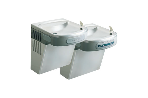 Elkay Versatile Cooler Wall Mount Bi-Level ADA Hands-Free, NonFilter 8 GPH Stainless 220V *Only available for Saudi Arabia