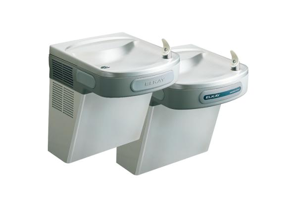 Image for Elkay Versatile Cooler Wall Mount Bi-Level ADA Hands-Free, Non-Filtered 8 GPH Stainless from Elkay Latin America