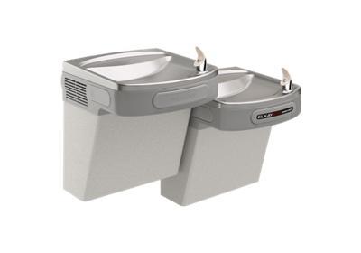 Elkay ezstl8lc dual drinking fountain | drinkingfountaindoctor. Com.