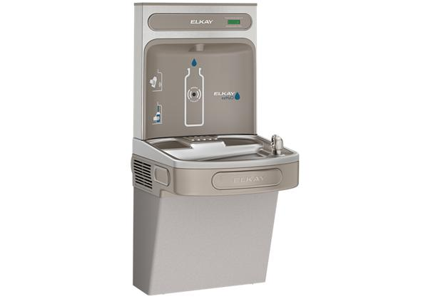 Image for Elkay EZH2O Bottle Filling Station with Single ADA Cooler, Non-Filtered 8 GPH Light Gray from Elkay Latin America