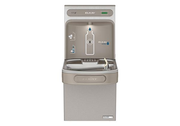 Image for Elkay EZH2O Bottle Filling Station & Single ADA Cooler, High Efficiency Non-Filtered 8 GPH Light Gray from Elkay Latin America
