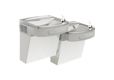 Image for Elkay Versatile Cooler Wall Mount Bi-Level ADA Non-Filtered, 8 GPH Stainless from ELKAY