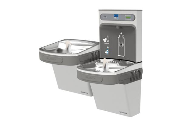 Image for Elkay EZH2O Bottle Filling Station with Versatile Bi-Level ADA, Cooler Non-Filtered 8 GPH Stainless 220V from Elkay Middle East