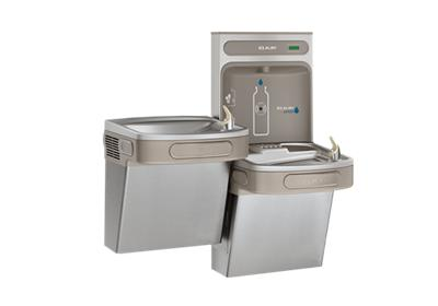 Image for Elkay EZH2O Bottle Filling Station & Versatile Bi-Level ADA Cooler, Non-Filtered 8 GPH Stainless from ELKAY
