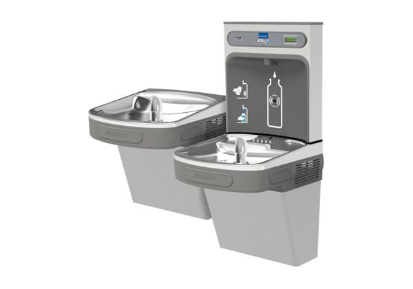 Image for Elkay EZH2O Bottle Filling Station with Versatile Bi-Level ADA, Cooler Non-Filtered 8 GPH Light Gray 220V from Elkay Latin America