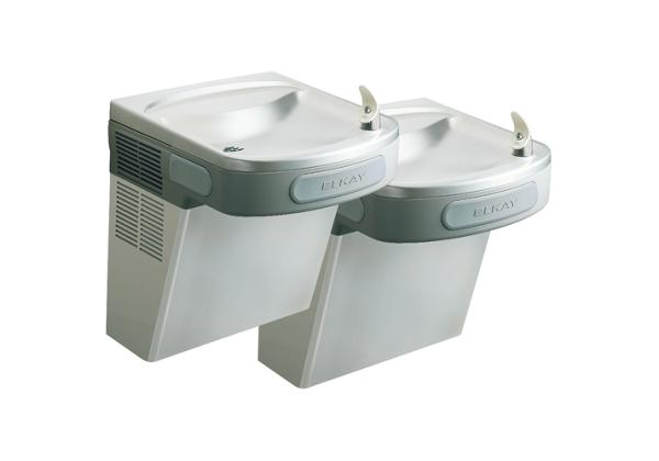 Image for Elkay Versatile Cooler Wall Mount Bi-Level ADA Non-Filtered, Non-Refrigerated Stainless from Elkay Latin America