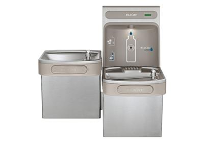 Image for Elkay EZH2O Bottle Filling Station & Versatile Bi-Level ADA Cooler, Non-Filtered Non-Refrigerated Stainless from ELKAY
