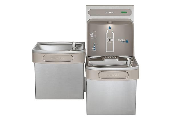 Image for Elkay EZH2O Bottle Filling Station & Versatile Bi-Level ADA Cooler, Non-Filtered Non-Refrigerated Stainless from Elkay Latin America