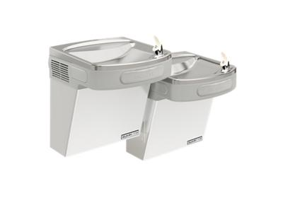 Image for Elkay Versatile Cooler Wall Mount Bi-Level GreenSpec ADA, Non-Filtered 8 GPH Stainless from ELKAY