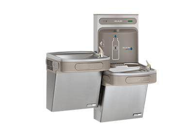 Image for Elkay EZH2O Bottle Filling Station & Versatile Bi-Level ADA Cooler, High Efficiency Non-Filtered 8 GPH Stainless from ELKAY
