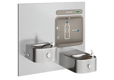 Image for Elkay EZH2O Bottle Filling Station & Integral Soft Sides Fountain, Non-Filtered Non-Refrigerated Stainless from ELKAY