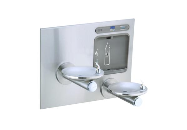 Image for Elkay EZH2O Bottle Filling Station with Integral SwirlFlo Fountain, Non-Filtered Non-Refrigerated Stainless from Elkay Latin America
