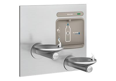 Image for Elkay EZH2O Bottle Filling Station with Integral SwirlFlo Fountain, Non-Filtered Non-Refrigerated Stainless from ELKAY